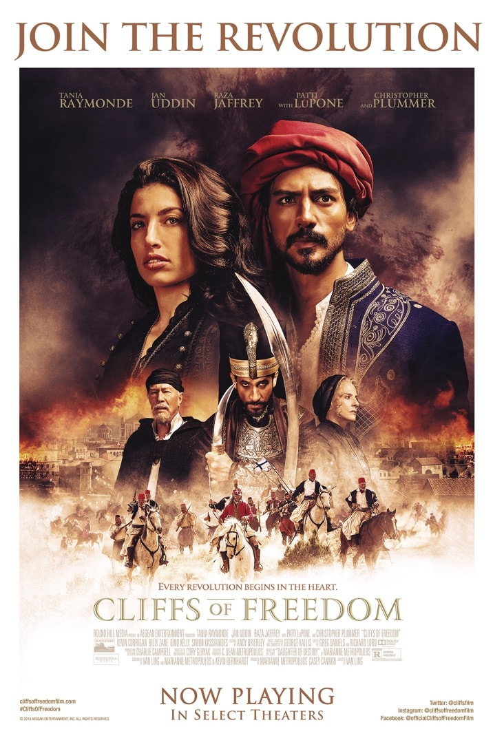 Poster for Cliffs Of Freedom