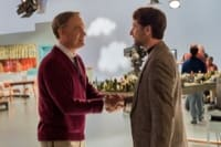 Mister Rogers (Tom Hanks) meets journalist Lloyd Vogel (Matthew Rhys)