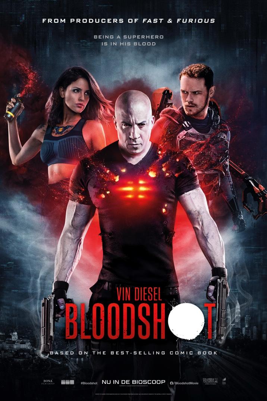 Resultado de imagem para bloodshot vin diesel poster