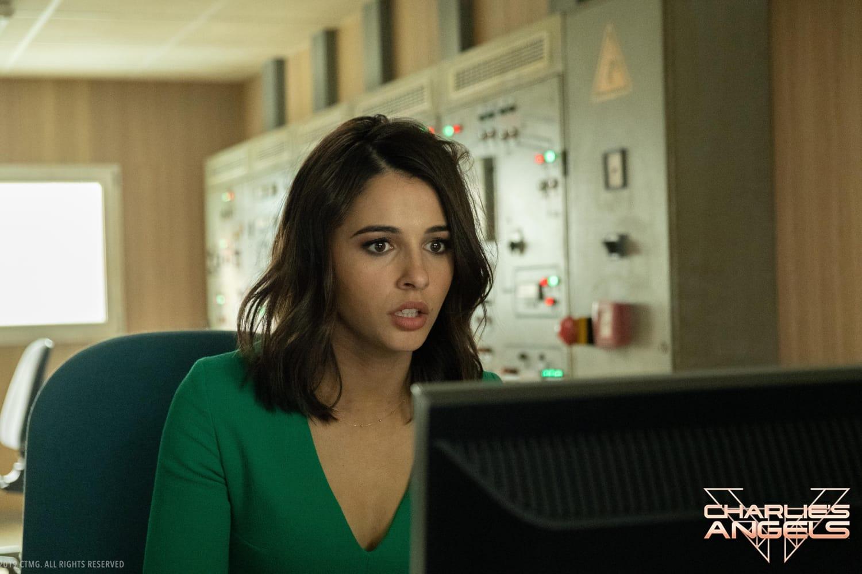 Naomi Scott stars in Charlie's Angels.