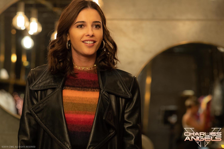 Naomi Scott stars in Charlies Angels.