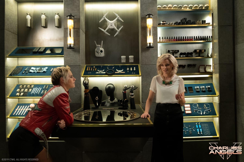 Kristen Steward and Elizabeth Banks star in Charlie's Angels.
