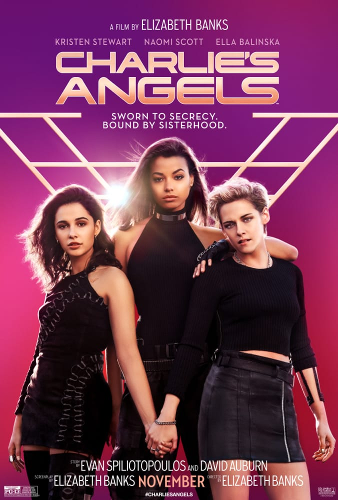 Official Charlie's Angels poster.