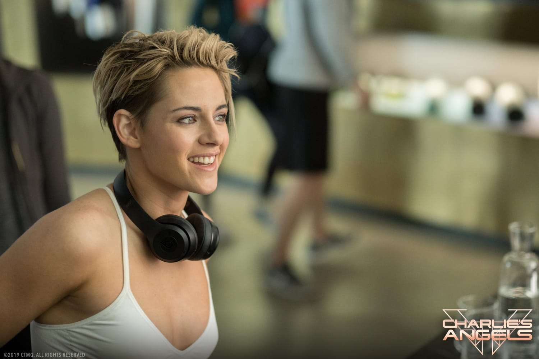 Kristen Stewart stars in Charlie's Angel.