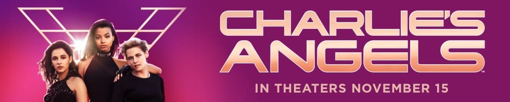 Official Charlie's Angels Mobile Banner