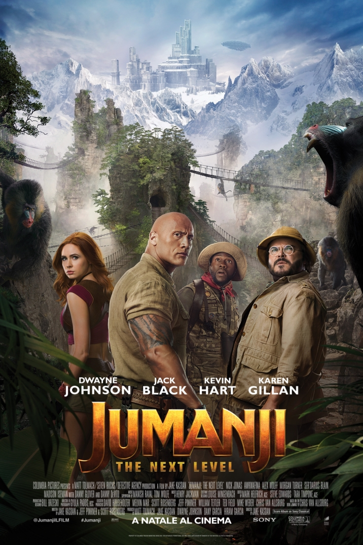 Poster di Jumanji: The Next Level