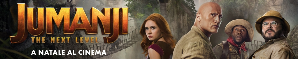 Jumanji: The Next Level immagine banner