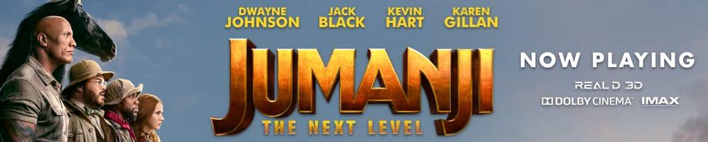 Jumanji: The Next Level Mobile Banner