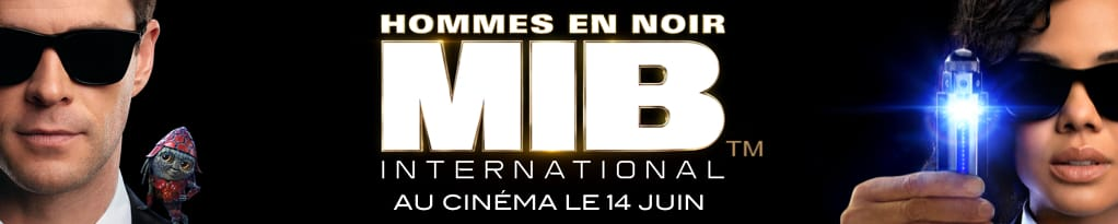 Poster for MIB Hommes en noir international