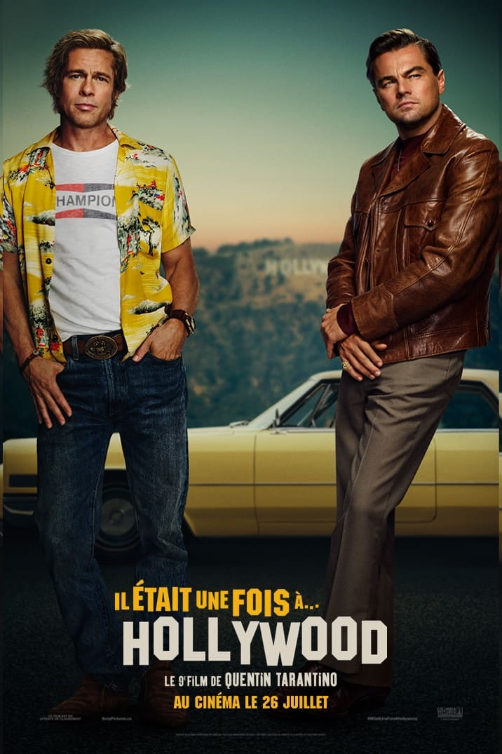 Poster for Il était une fois à Hollywood