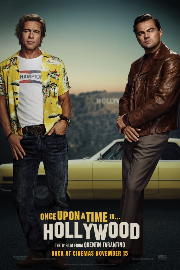 Poster for Once Upon a Time In Hollywood