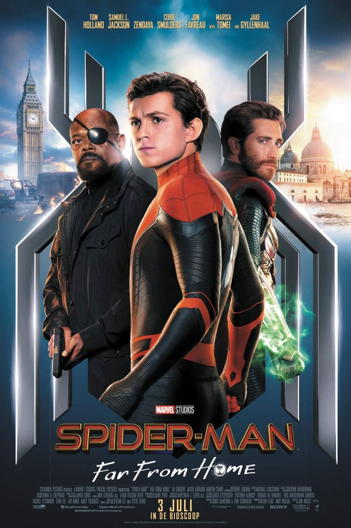 Poster for Spider-Man: Far From Home