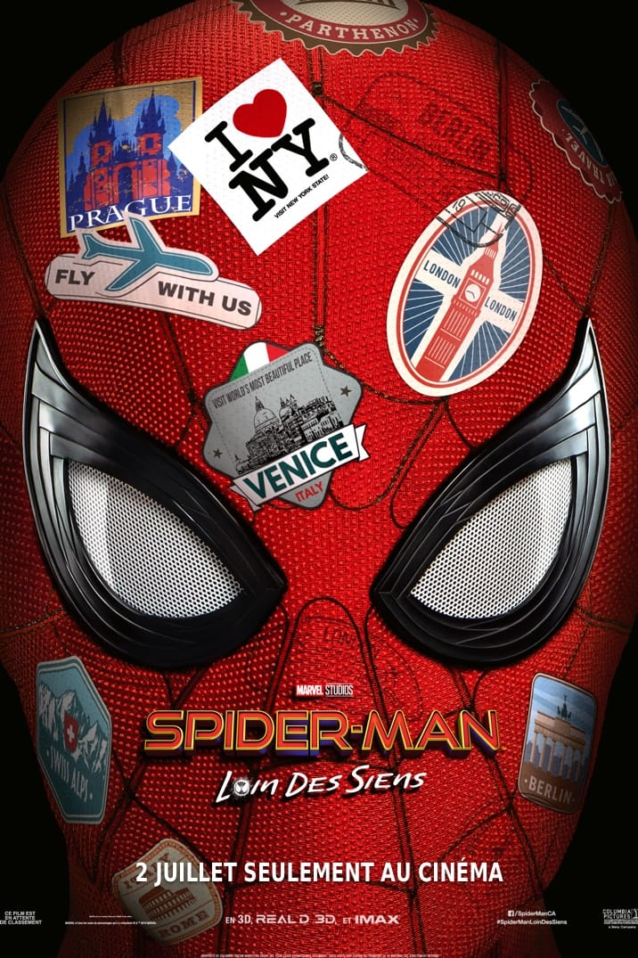 Poster for SPIDER-MAN: LOIN DES SIENS