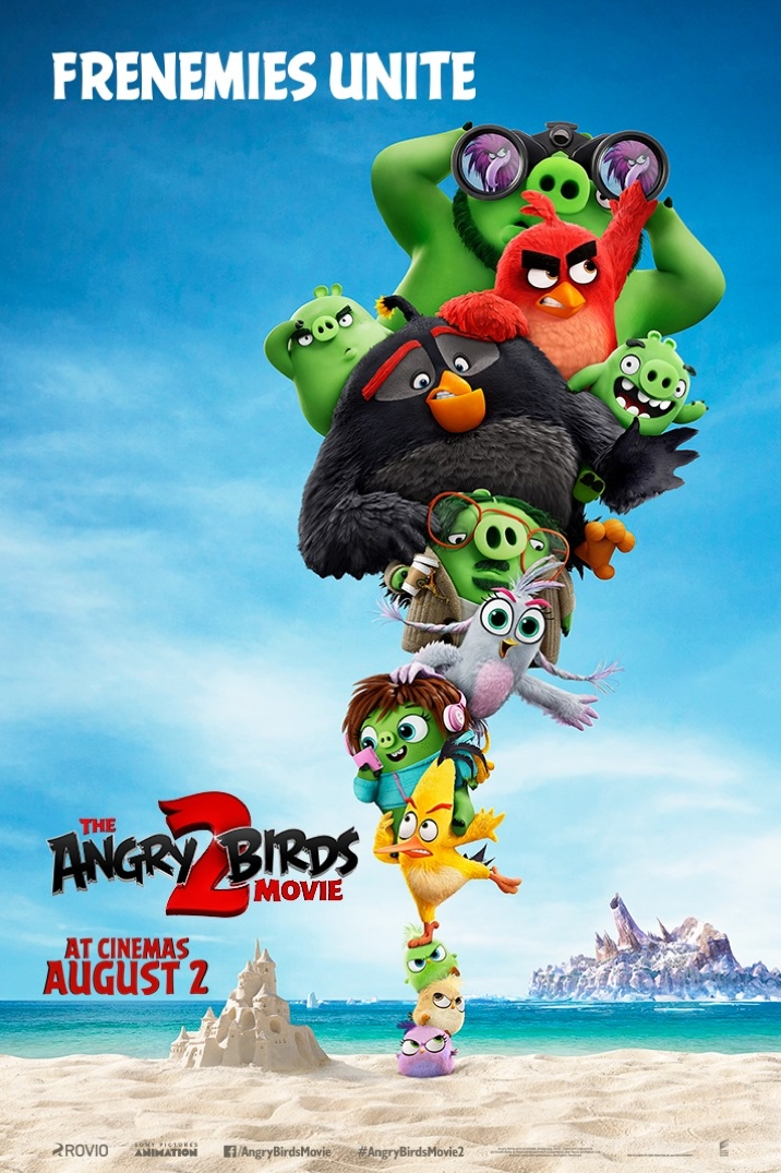 Poster image for The Angry Birds Movie 2