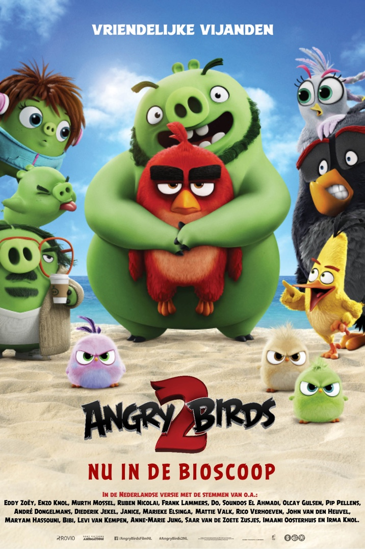 Poster for Angry Birds 2
