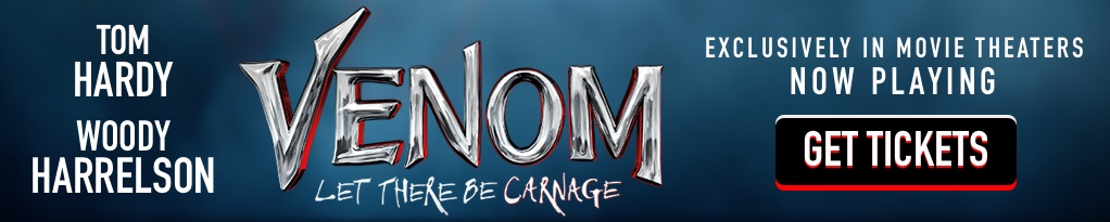 Venom: Let There Be Carnage Mobile Banner