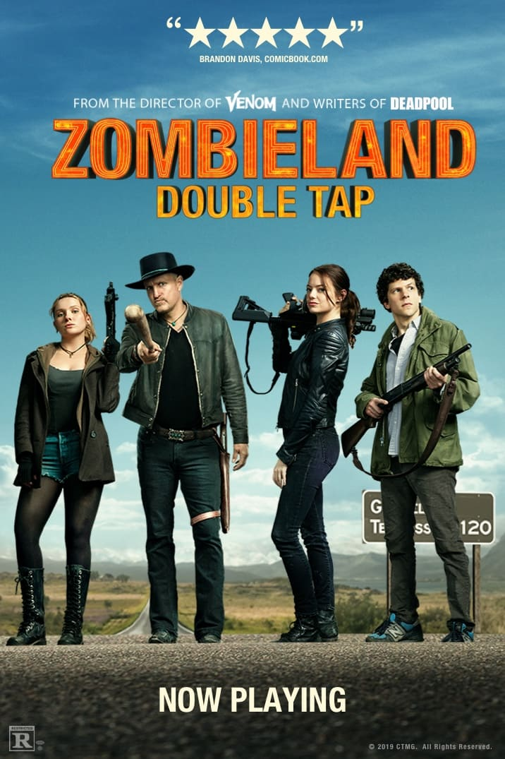 Official Zombieland: Double Tap Logo