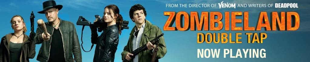 Official Zombieland: Double Tap Mobile Banner