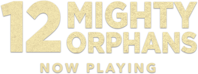 Title or logo for 12 Mighty Orphans