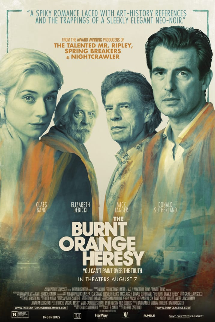 Poster image for The Burnt Orange Heresy