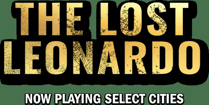 Title or logo for The Lost Leonardo
