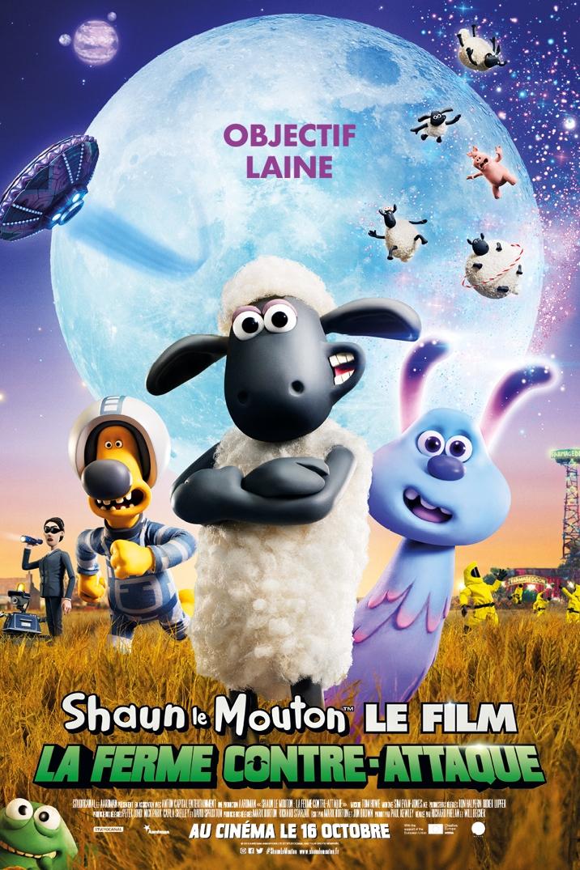 Affiche du film SHAUN LE MOUTON LE FILM : LA FERME CONTRE-ATTAQUE