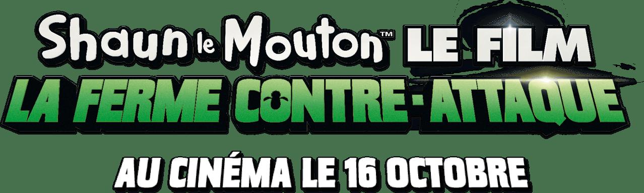 Logo titre pour SHAUN LE MOUTON LE FILM : LA FERME CONTRE-ATTAQUE