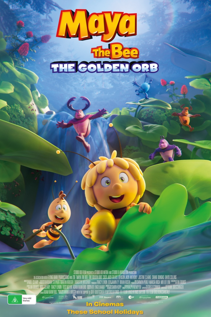 Poster image for Maya The Bee: The Golden Orb