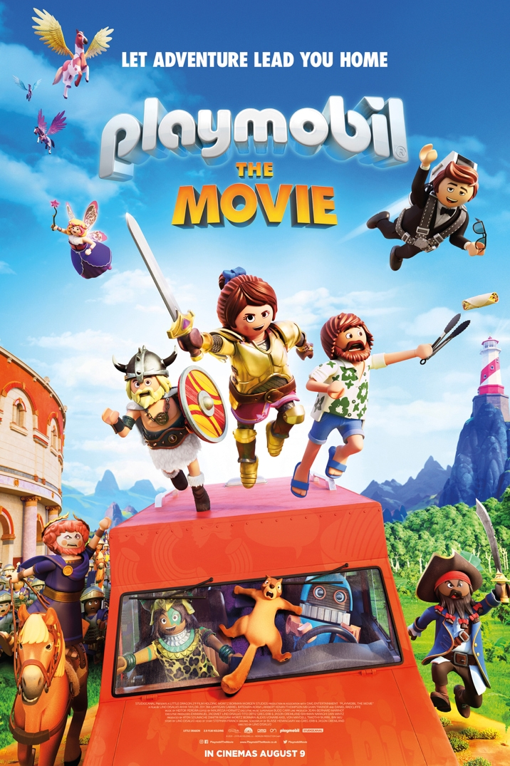 Poster for Playmobil: The Movie
