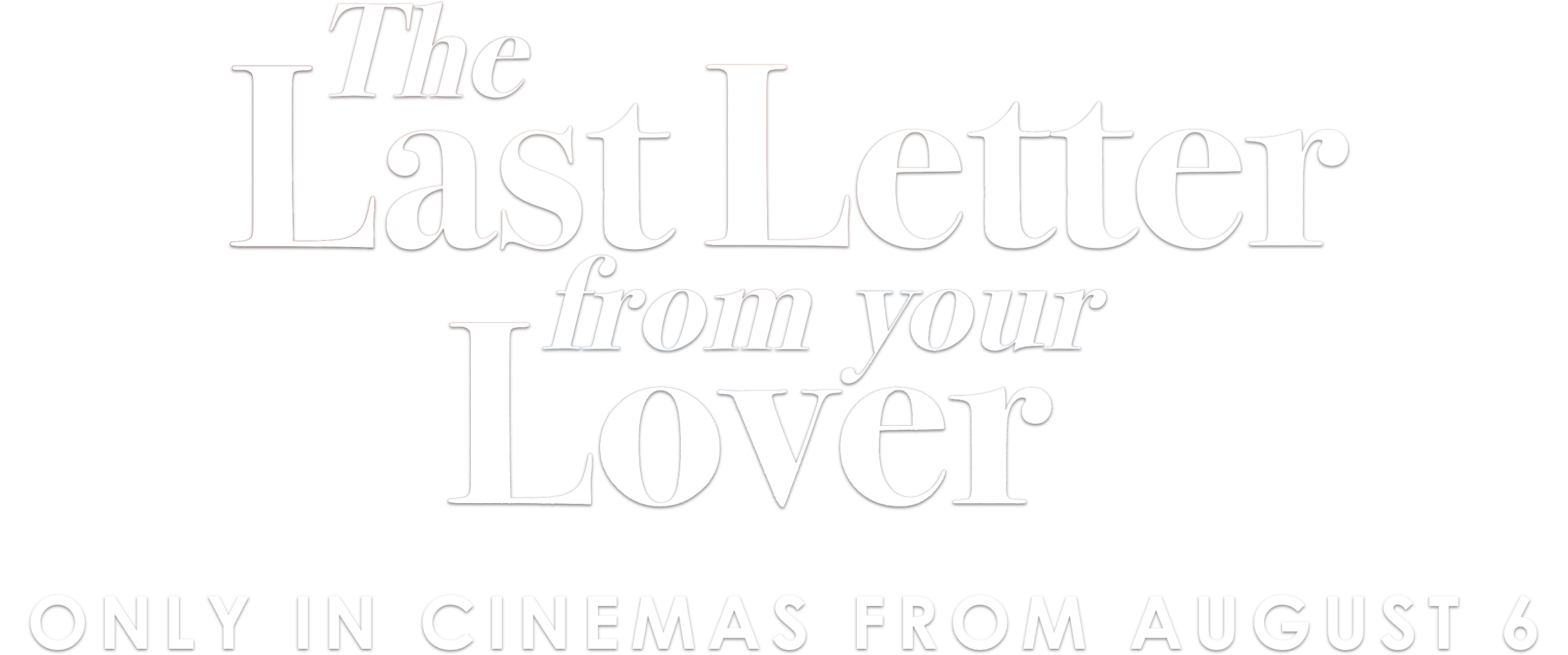 Title or logo for The Last Letter from Your Lover