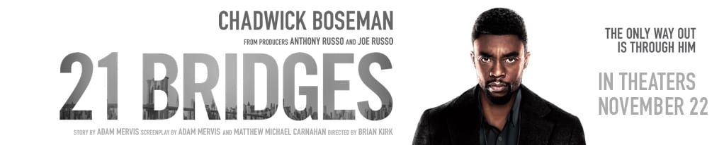 Poster image for 21 Bridges