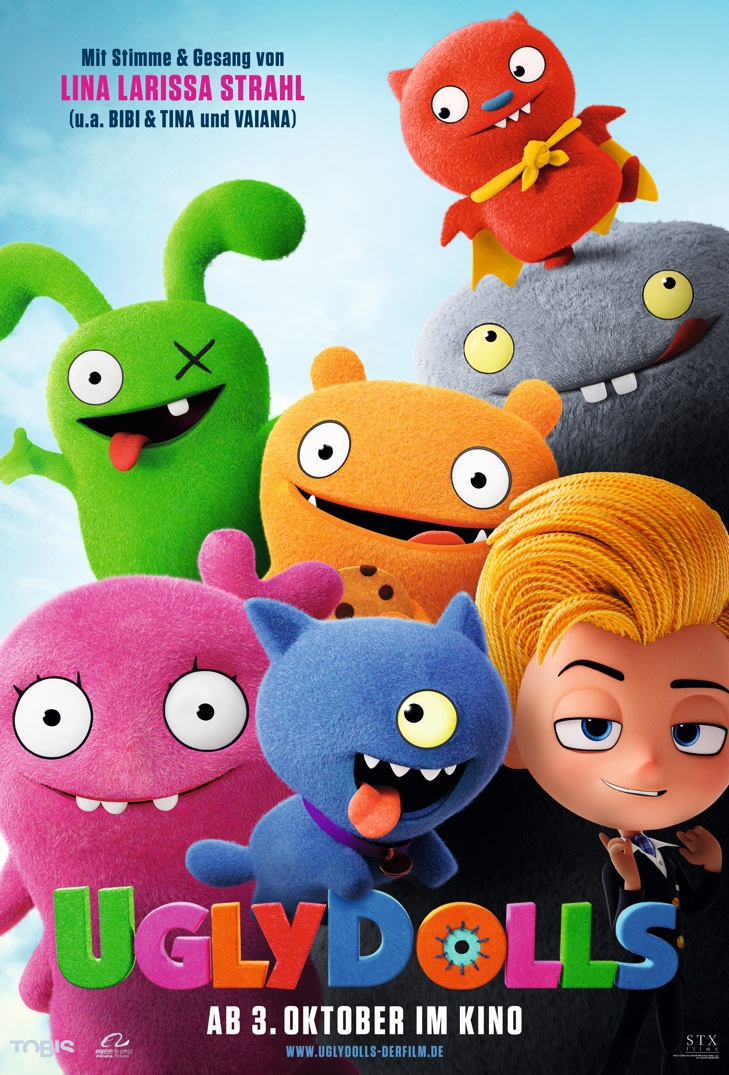 Poster image for UglyDolls