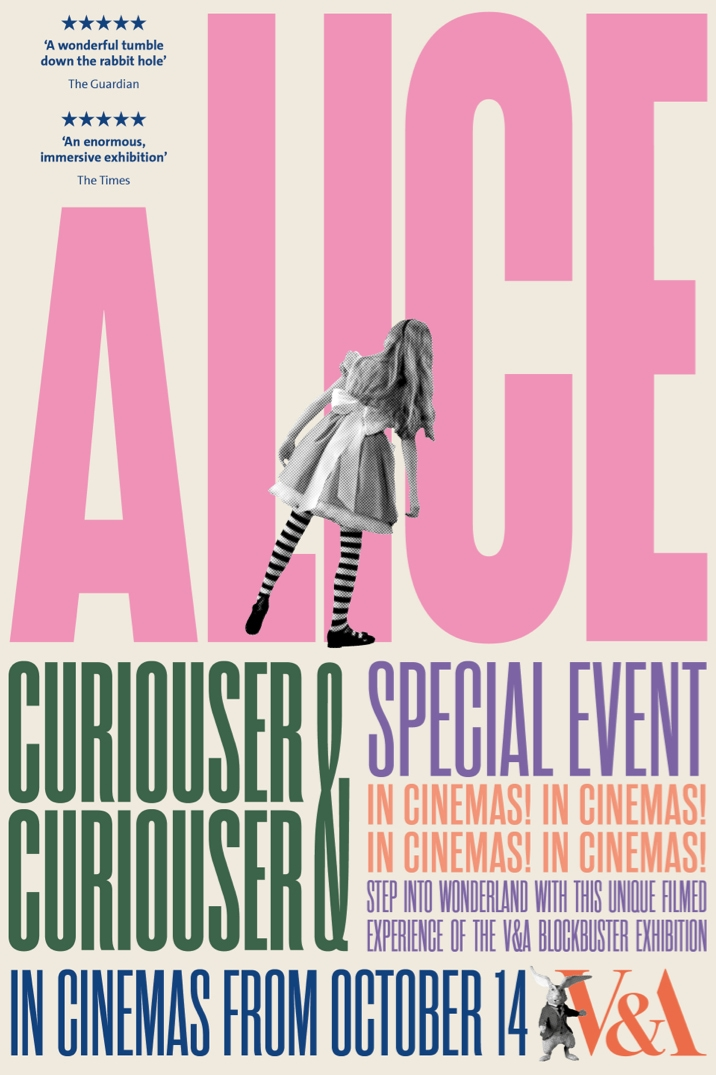 Poster image for The V&A presents Alice: Curiouser and Curiouser