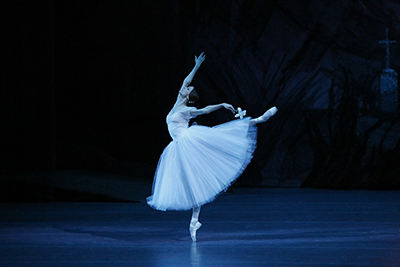 <strong>GISELLE</strong>    When Giselle learns that her beloved Albrecht is promised to another woman, she dies of a broken heart in his arms. While Albrecht grieves, she returns from the dead as a Wili, a vengeful spirit meant to make unfaithful men dance until death… Prima ballerina Svetlana Zakharova personifies this ultimate ballerina role in the classical repertoire, alongside the sensational Sergei Polunin, in this chilling, yet luminous ballet that continues to captivate audiences for over 150 years at the Bolshoi.
