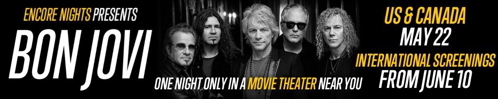 Poster image for Encore Nights Presents Bon Jovi