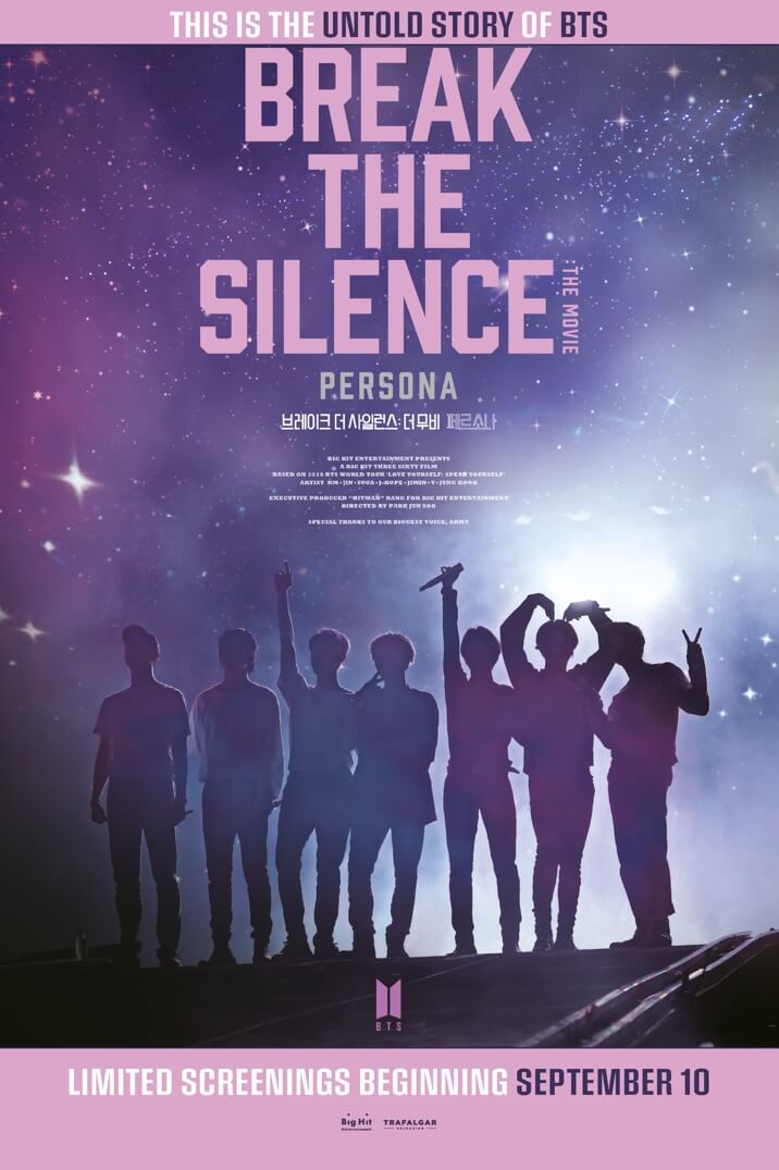 Poster image for BREAK THE SILENCE: THE MOVIE