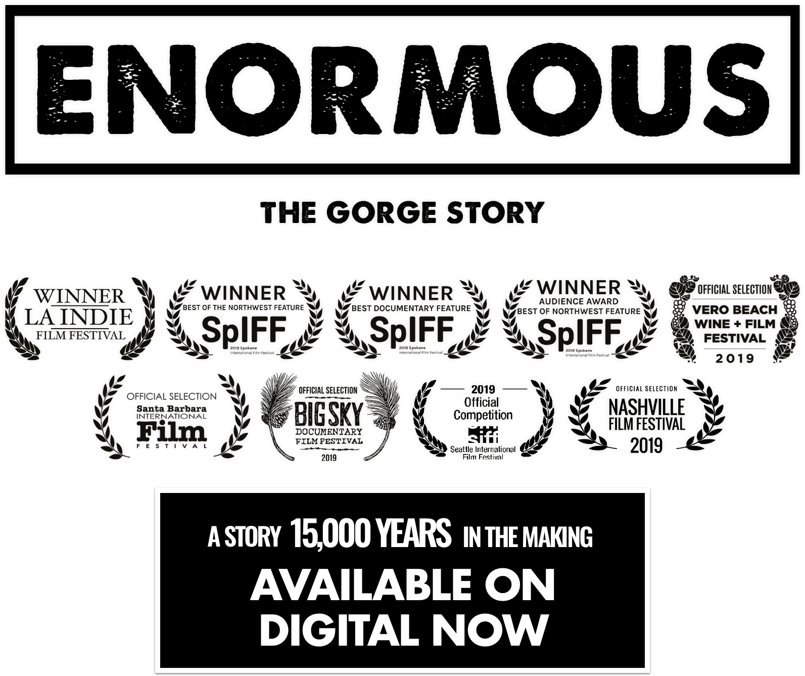 Enormous: The Gorge Story: Synopsis | Trafalgar Releasing