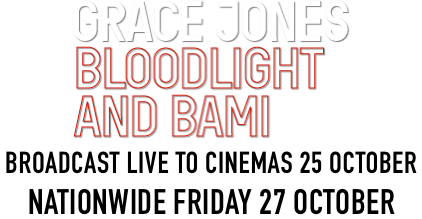 Grace Jones: Bloodlight & Bami Live with Friends : Synopsis | Trafalgar Releasing