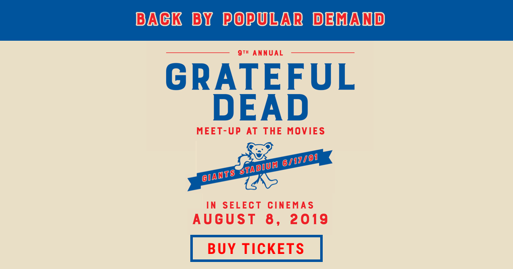 9th Annual Grateful Dead Meet-Up at The Movies: Get Tickets