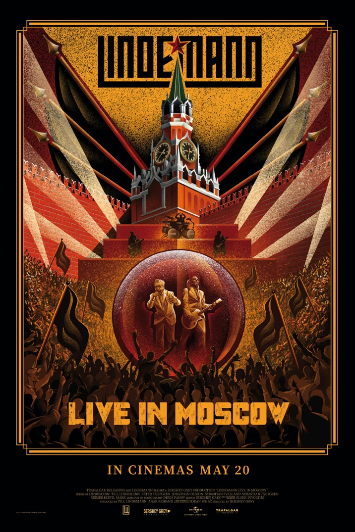 Poster image for LINDEMANN - Live In Moscow
