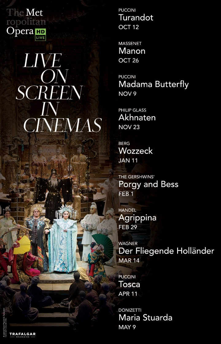 Poster for The Metropolitan Opera: Live on Screen in Cinemas 2019/2020