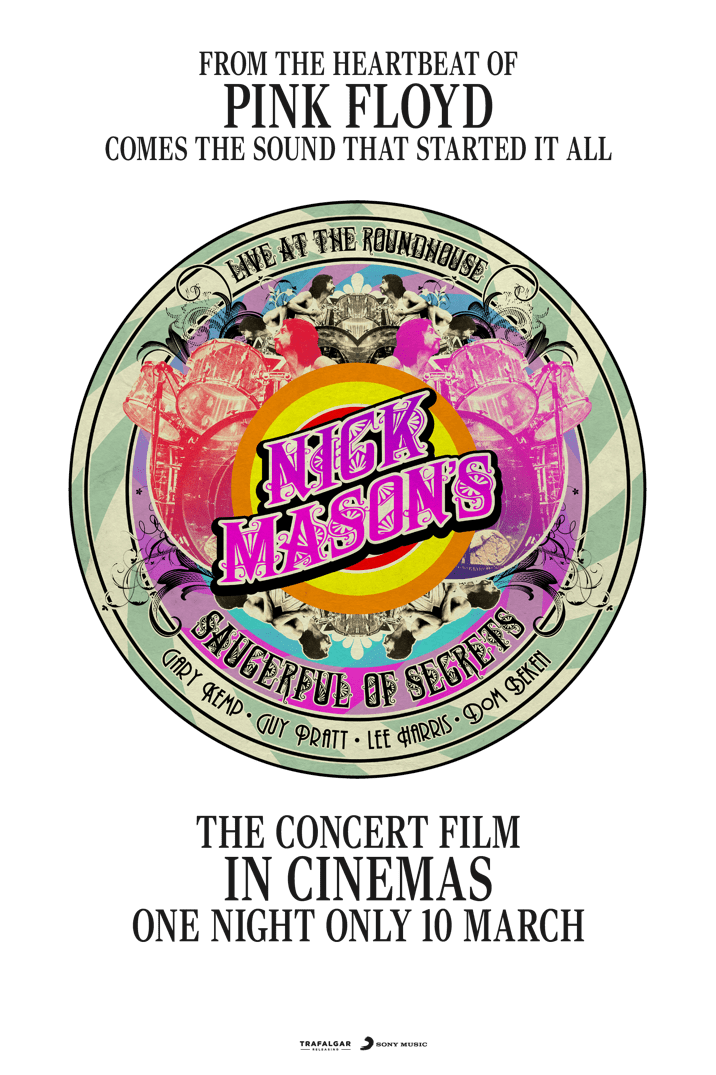 Poster image for Nick Mason's Saucerful of Secrets: Live at the Roundhouse