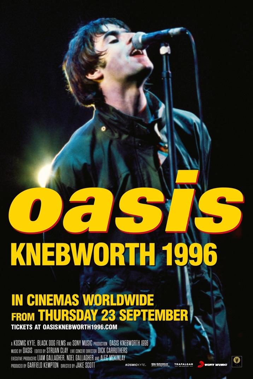 Poster image for Oasis Knebworth 1996