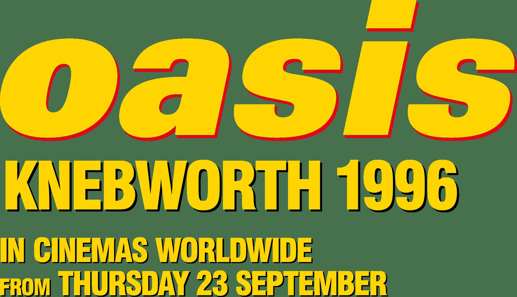 Oasis Knebworth 1996 : %$SYNOPSIS% | Trafalgar Releasing