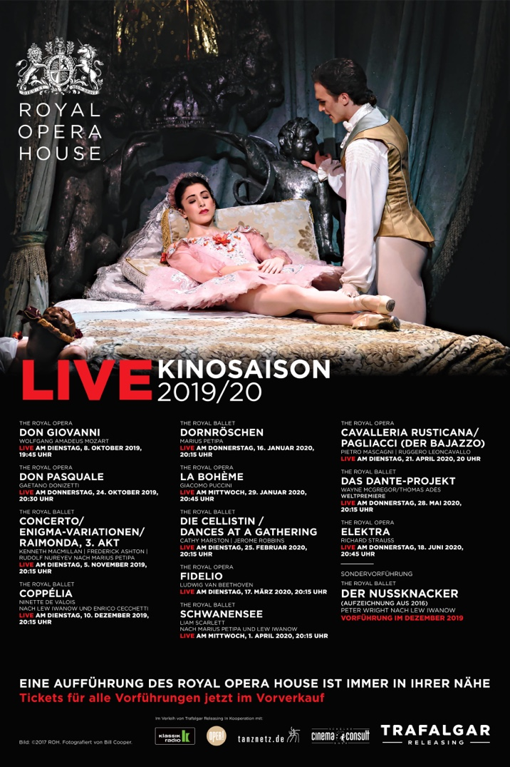 Poster for ROH Live Kinosaison 2019/20