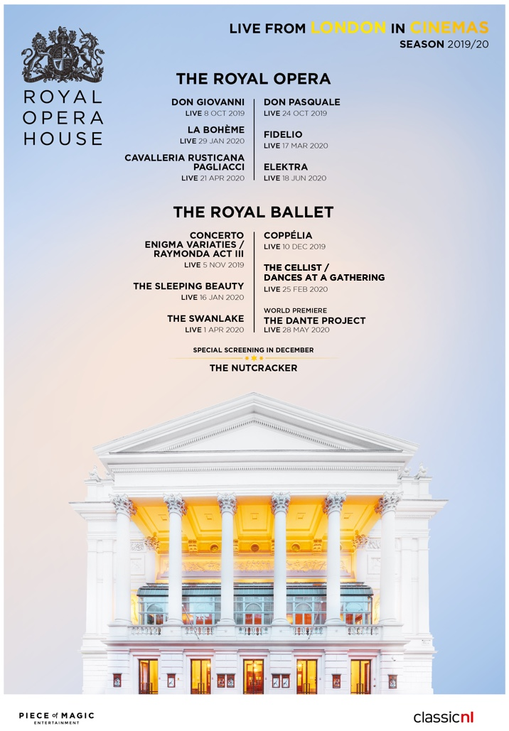 Poster for ROH Live Cinema Season 2019/20