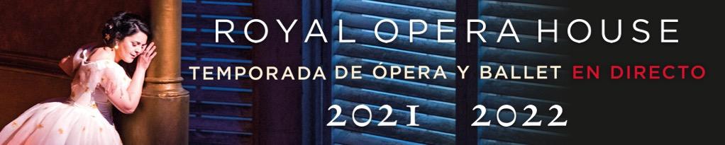 Banner de Royal Opera House en cines