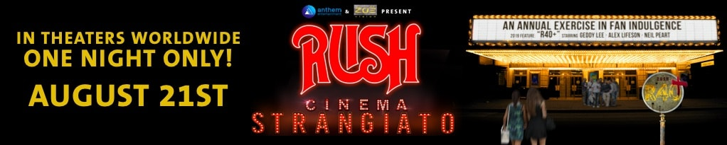 Poster for RUSH: Cinema Strangiato 2019