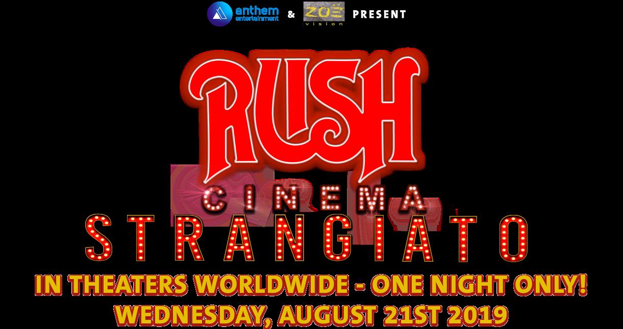 RUSH: Cinema Strangiato 2019: Synopsis | Trafalgar Releasing