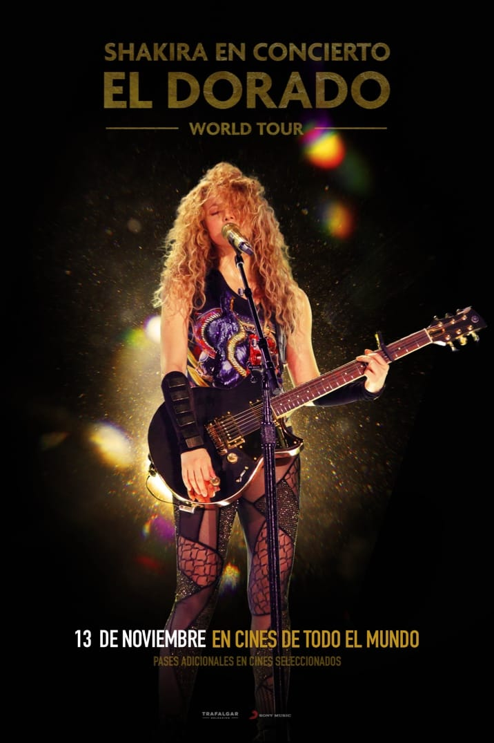 Poster image for Shakira En Concierto: El Dorado World Tour